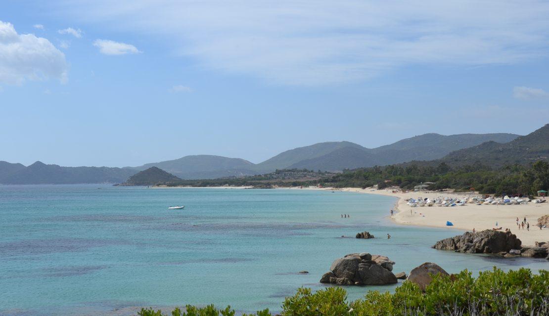 The 5 best beaches between Costa Rei and Villasimius
